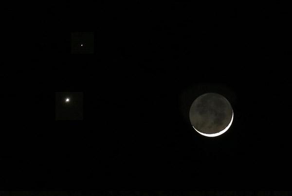 Congiunzione Luna Saturno: stasera lo spettacolare 'avvicinamento'