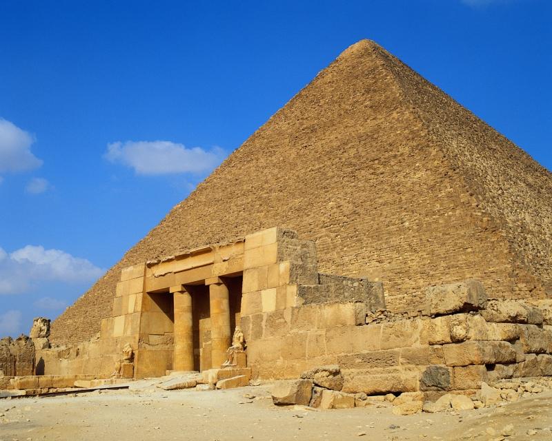 Piramide di Cheope: scoperta misteriosa camera