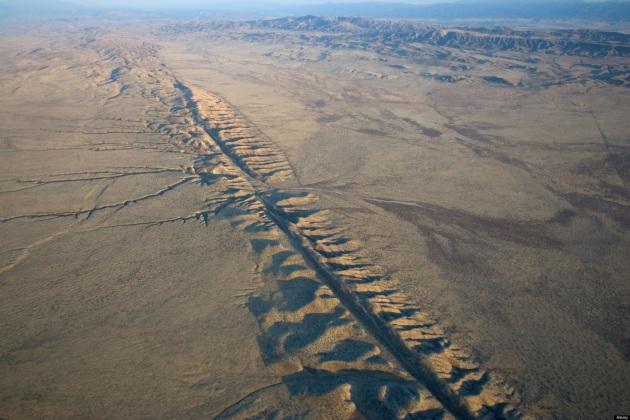 California: oltre 130 scosse in pochi giorni lungo la Faglia di Sant'Andrea