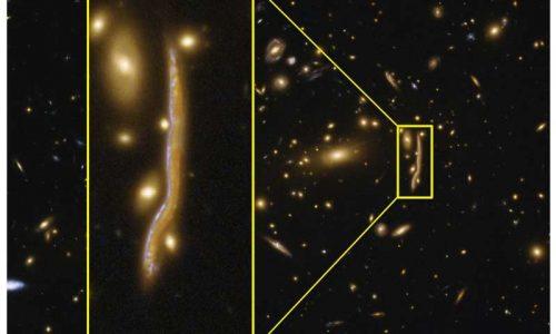 Spazio: Hubble osserva un 'serpente cosmico'