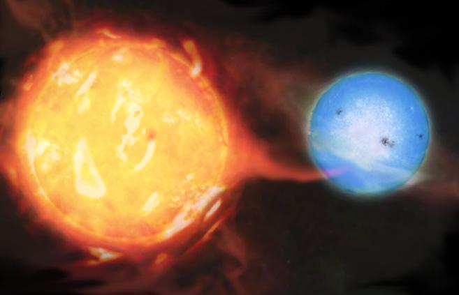 Spazio: scoperta una nana bruna assassina in un sistema binario