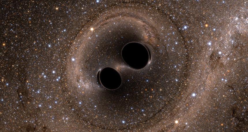 Spazio: la coppia di buchi neri più vicina mai scoperta