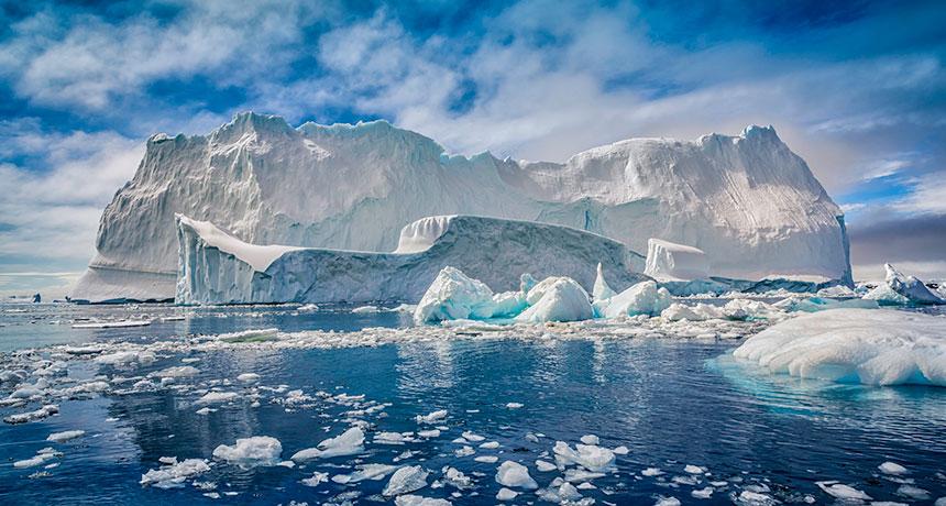 Scoperti batteri sconosciuti nel ghiaccio antartico