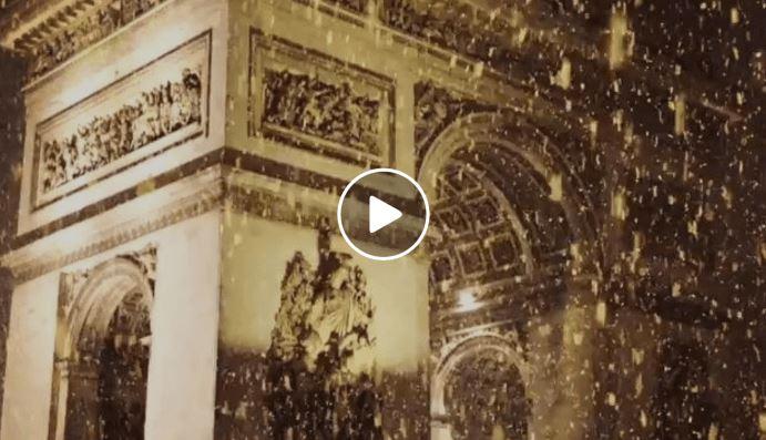 Neve Francia: primi fiocchi a Parigi, lo scenario è magico