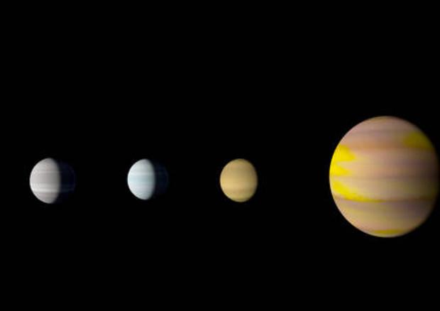 """Spazio: scoperto sistema planetario """"gemello"""" del nostro"""
