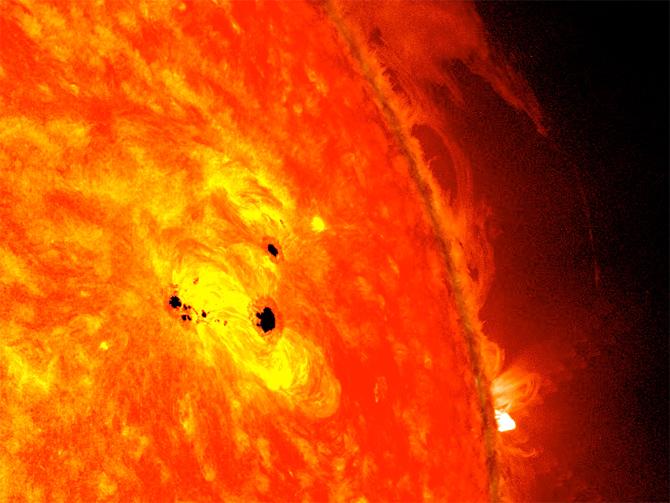 Sole privo di macchie: in arrivo il minimo solare