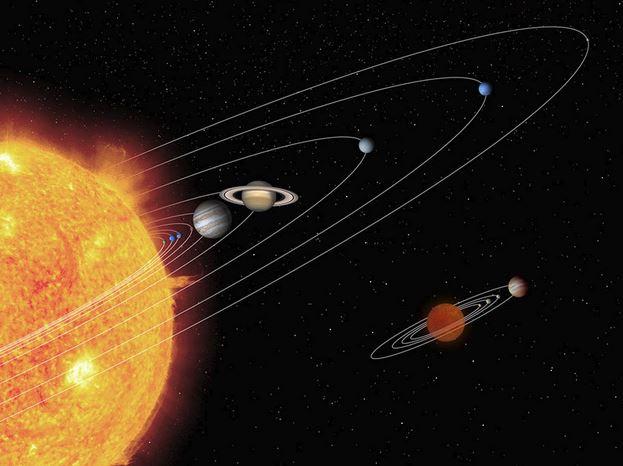 Sistema Solare: i pianeti si stanno allontanando dal Sole