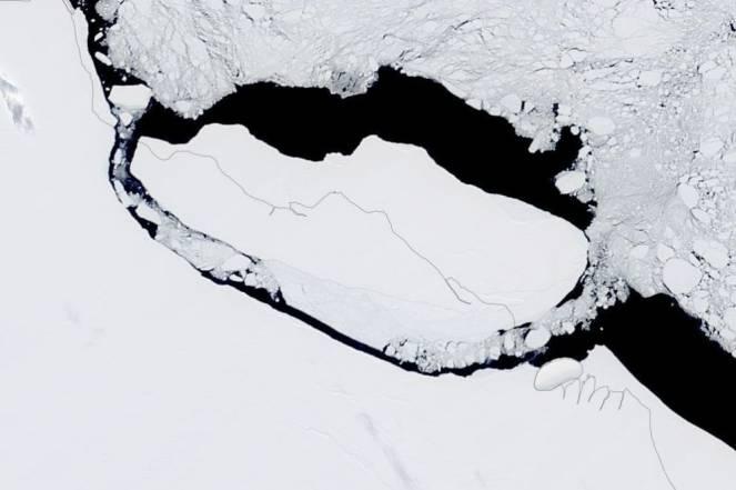 Antartide: spedizione per esplorare l'iceberg A68