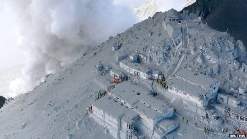 Eruzione del vulcano Ontake, un evento del tutto inaspettato? Il video
