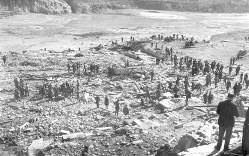 Cinquantunesimo anniversario del disastro del Vajont