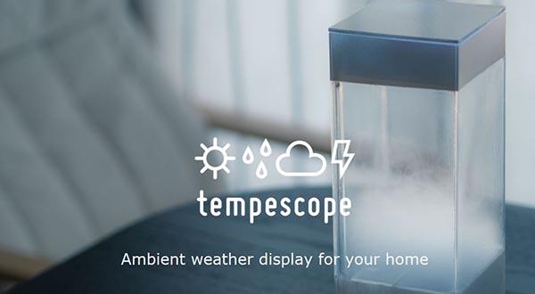 """In arrivo """"Tempescope"""" riproduce le condizioni meteo in casa vostra"""