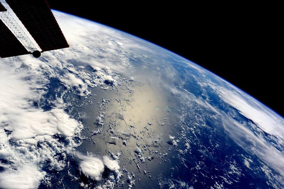 Samantha Cristoforetti e le sue prime foto della Terra