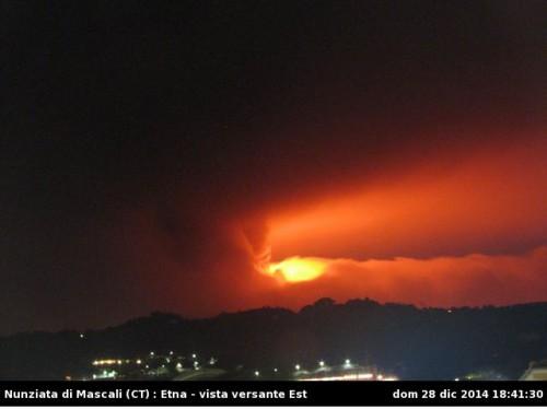 Eruzione Etna: improvvise esplosioni ed emissioni di lava, la diretta