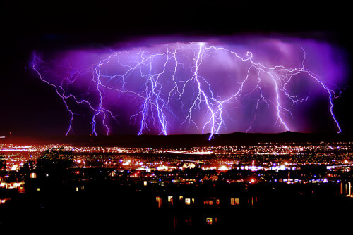 Surriscaldamento globale influisce sul numero dei fulmini