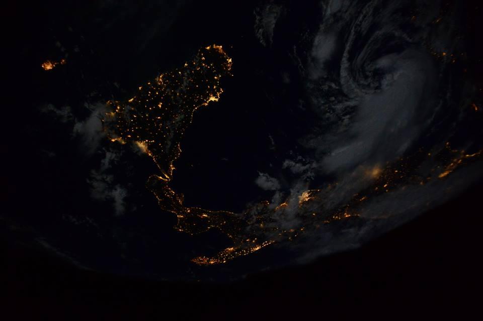 Samantha Cristoforetti fornisce le prime foto dell'Italia dalla Stazione Spaziale