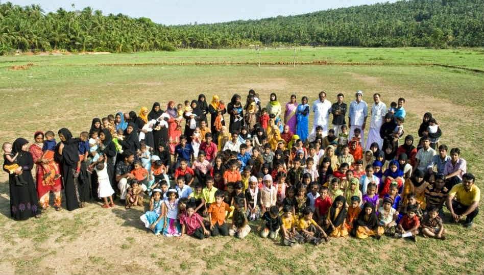 Villaggio in India popolato da gemelli