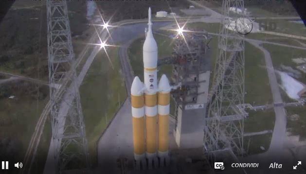 Lancio del razzo Orion in diretta streaming: si apre una nuova era nell'esplorazione spaziale