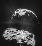 La sonda Rosetta ci regala una straordinaria foto della cometa 67P/Churyumov-Gerasimenko