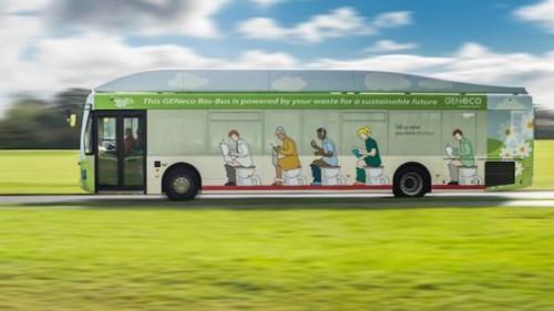 Nel Regno Unito è entrato in funzione il primo bio-bus che funziona grazie alla pupu