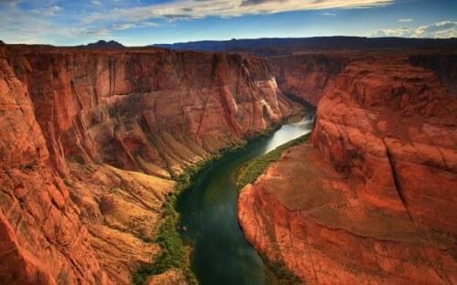 I fiumi scorrono più velocemente dopo un terremoto?