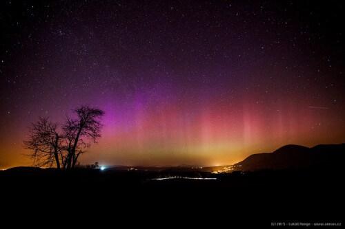 Aurora boreale avvistata in Austria, Francia, Repubblica Ceca, Polonia e Germania