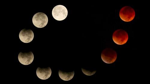 Eclissi di Luna in arrivo: lo spettacolo sull'Italia in data 4 Aprile