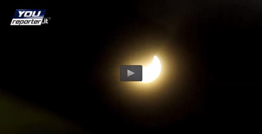 Eclissi Roma: ecco cosa si è visto in mattinata sulla Capitale, il video