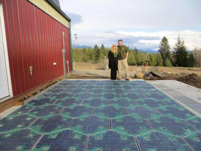 Pannelli solari al posto dell'asfalto: è il progetto Solar Roadways