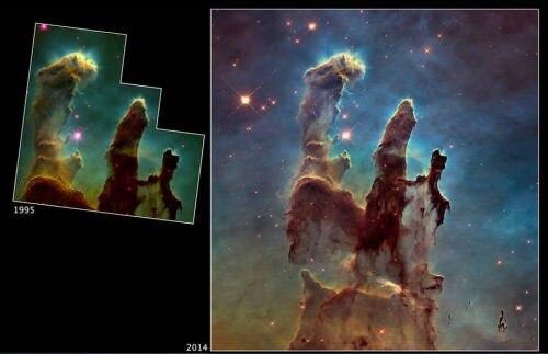 Buon compleanno Hubble! Il grande telescopio orbitante compie 25 anni