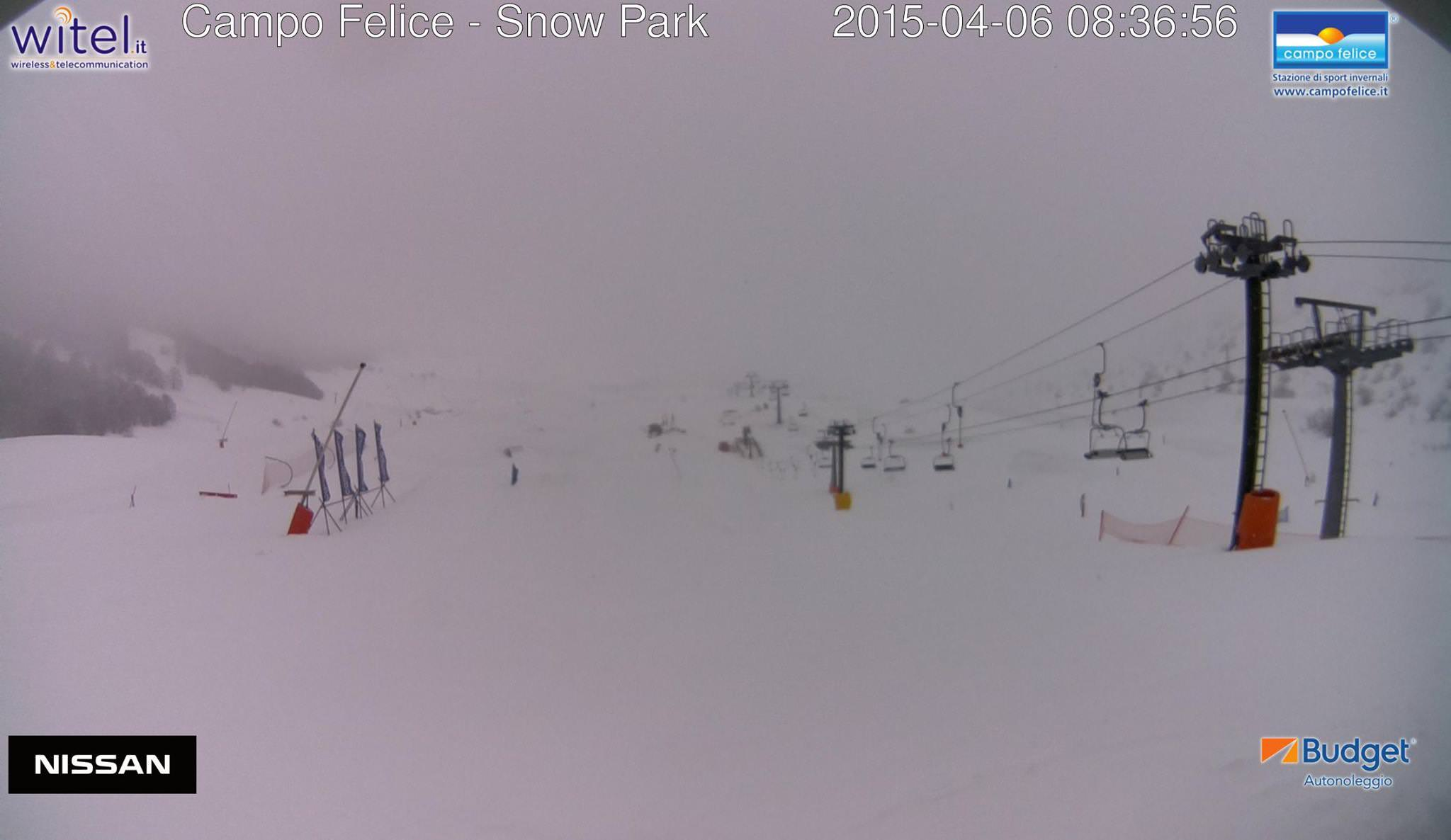 Torna la neve in Appennino, specie nella giornata di Martedì 07 Aprile