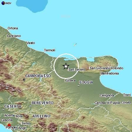 Terremoto oggi Puglia: avvertita scossa sismica con epicentro a Foggia