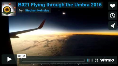 Eclissi di Sole, lo straordinario video della zona d'ombra girato dentro un aereo