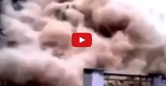 Terremoto Nepal: terribile video di una frana in diretta