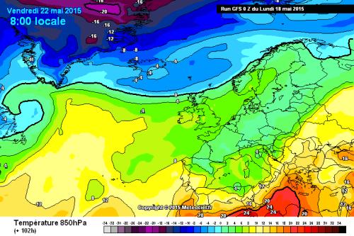 Temperature in aumento sull'Italia, ma dal week-end nuovo calo termico