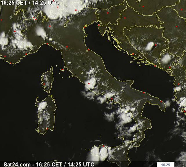 Maltempo sull'Italia: eccezionali grandinate su Trentino, Lombardia, Lazio e Sicilia, temporali eccezionali