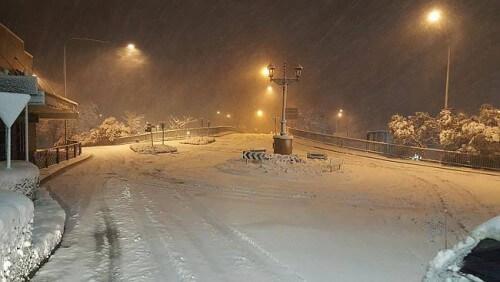 Australia: in atto le nevicate più forti da un decennio