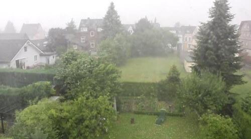 Maltempo Germania: grandine e temporali intensi hanno causato danni