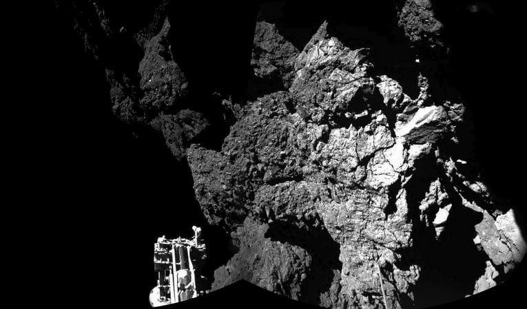 Lander Philae ristabilisce il contatto con la sonda Rosetta
