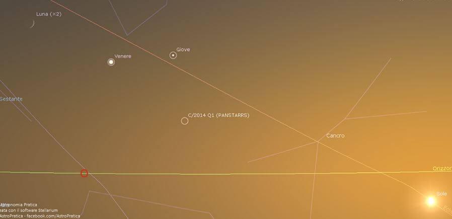 Allineamento Giove, Luna e Venere, stasera si bissa