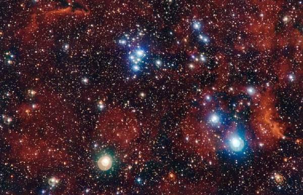 Scoperto un ammasso di stelle ai margini della Via Lattea