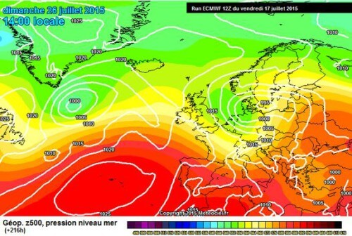 Maltempo in arrivo nella terza decade di Luglio, sarà la fine del grande caldo?