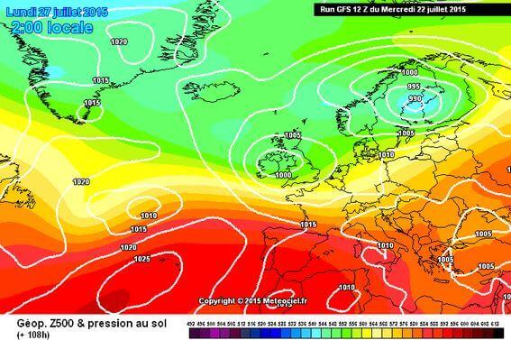 Maltempo fine mese: calo termico al Centro-Nord, temporali forti sulla Pianura Padana