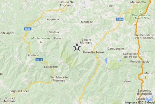Terremoto Emilia Romagna 22 Luglio: magnitudo 3.9 Richter dati INGV