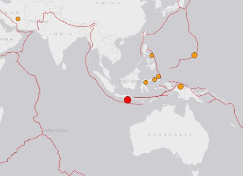 Terremoto Indonesia: scossa di magnitudo 6.0 della scala Richter