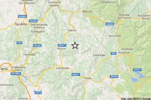 Terremoto Umbria Lazio Marche: appena avvertita scossa di magnitudo 3.0 della scala Richter