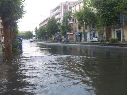 Nubifragio a Messina, notevole accumulo di 55 mm isolato rispetto alle zone circostanti