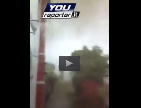Tornado Veneto: terribile video all'interno del vortice