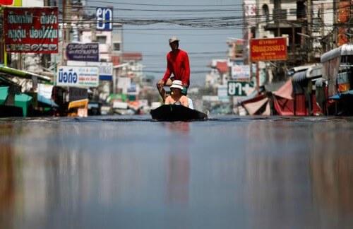 Thailandia: la capitale Bangkok sta sprofondando