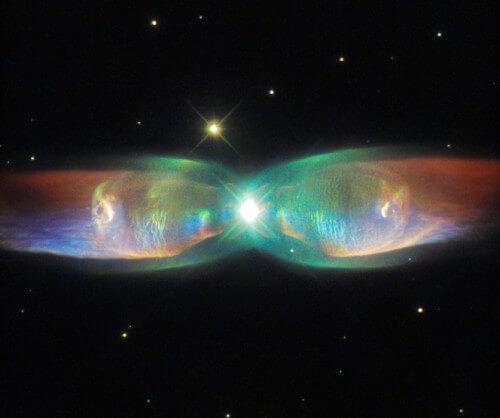 Telescopio Hubble: fotografate delle ali di farfalla