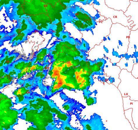 Nubifragio Genova: notte di passione per parte della Liguria, temporali attesi su Piemonte, Toscana e Lombardia